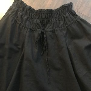 🔵 3 for $15 Black Linen Skirt